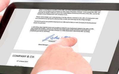 COFECE establece reglas para el uso de la firma electrónica avanzada