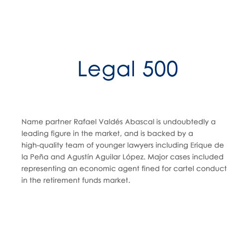 LEGAL 500 VALDES ABASCAL